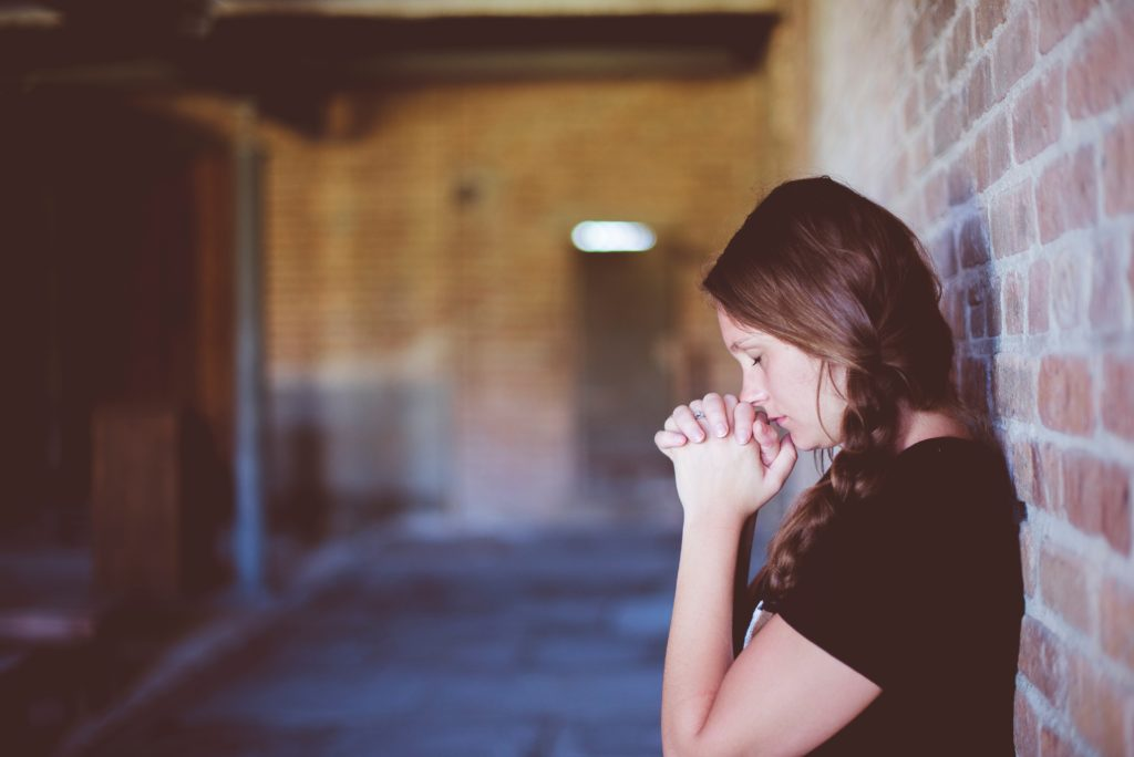 Prayer is the number 1 way to combat alcoholism. Photo by Ben White